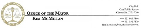 Clarksville Office of the Mayor - Kim McMillan
