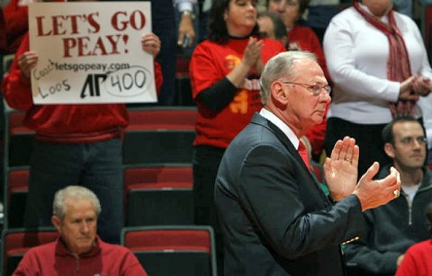 APSU basketball coach Dave Loos (Courtesy: Keith Dorris/Dorris Photography)
