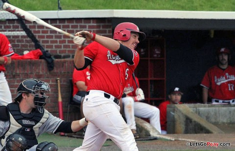 Freshman catcher Matt Wollenzin is the first OVC player named to the NCBWA's Freshman All-American squads. (Courtesy: Austin Peay Sports Information)