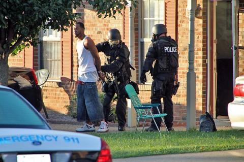 Banks in custody. (CPD-Jim Knoll)