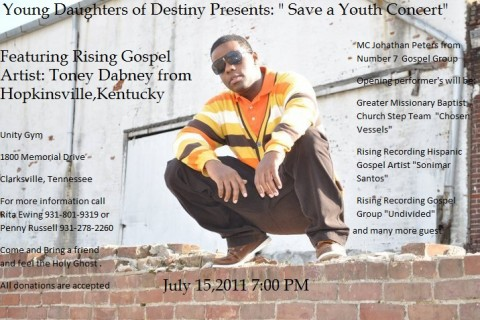 "Young Daughters of Destiny present ""Save a Youth"" Concert."