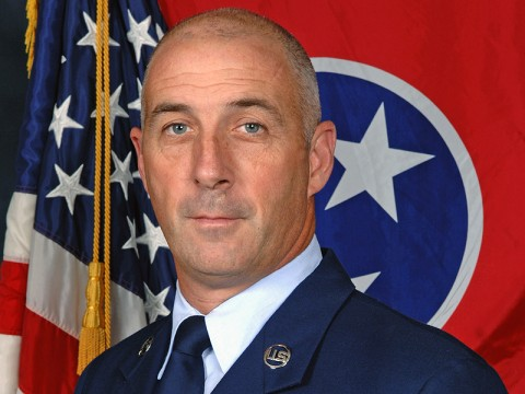 Command Chief Master Sergeant Wade Hudson.