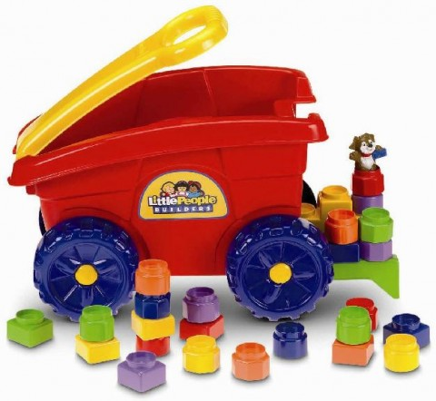 Little People Builders' Load 'n Go Wagons recalled by Fisher-Price.