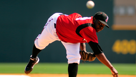 Frankie De La Cruz. (Mike Strasinger, Nashville Sounds)