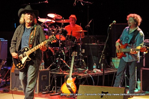John Anderson performing with his band