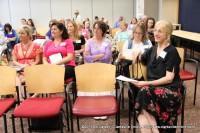 A full house for Stephanie Pruitt's Presentation