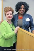 Stephanie Pruitt with Patricia Winn