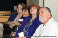 Members of the audience listen to Rheta Grimsley Johnson's presentation