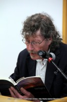 Author William Gay reading from his third novel Twilight at the 2011 Clarksville Writer's Conference