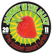 Jammin' in the Alley Logo