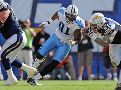 Jason Jones and rest of the Titans report to training camp today. (Tennessee Titans)