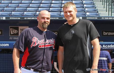 (L to R) George Sherrill and Matt Reynolds. (Austin Peay Sports Information)