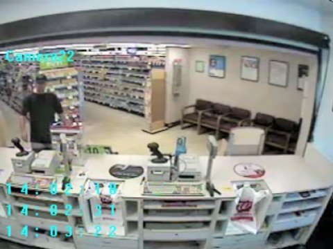 Two pharmacy robberies occured on July 3rd within one hour of each other.