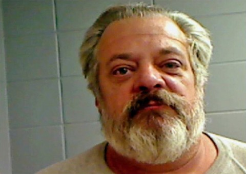 A picture of Fred Emile Berquez Jr. from an old Illinois booking photo.