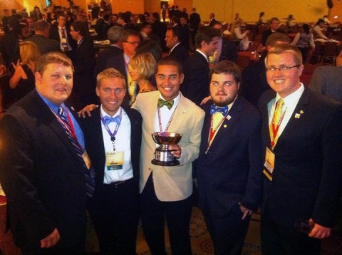 APSU Sigma Phi Epsilon chapter wins Buchana Cup.