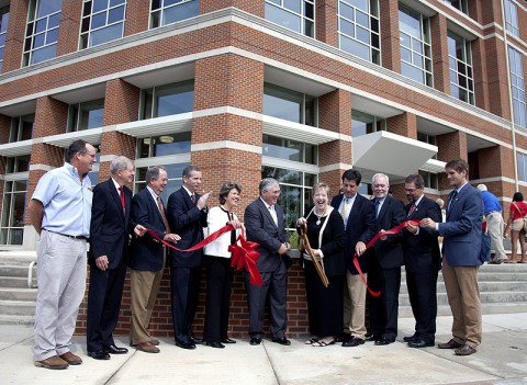Grand Opening of the New Castle Heights residence hall.