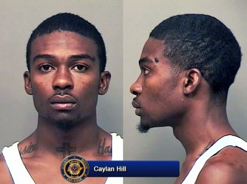 Clarksville Police are on the lookout for aggravated assault and carjacking suspect Caylan Hill.