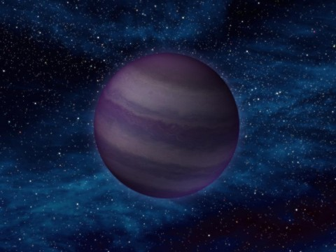 """This artist's conception illustrates what a """"Y dwarf"""" might look like. Y dwarfs are the coldest star-like bodies known, with temperatures that can be even cooler than the human body.  (Photo by NASA/JPL-Caltech)"""