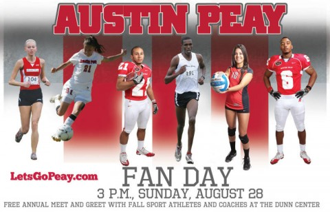 Austin Peay Fan Day. (Courtesy: Austin Peay Sports Information)