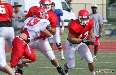 APSU Football Scrimmage Monday Morning. (Courtesy: Austin Peay Sports Information)