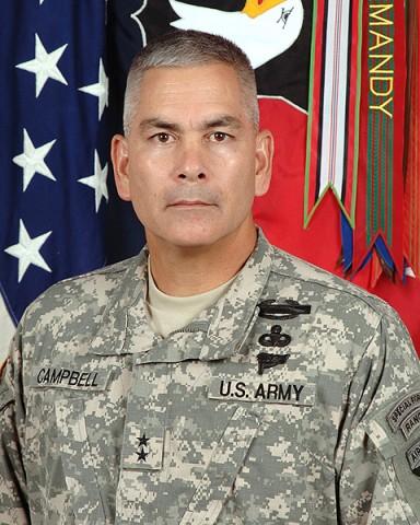 Major General John F. Campbell