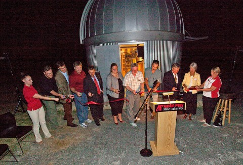 New APSU Observatory offically opens.