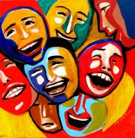 Laughing people by Roxana Soare