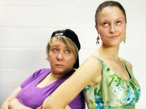 "Jan Dial (l) and Roxanne Waite (r) star in ""The Odd Couple"" (female version) at the Fort Campbell Community Theatre at the Dale Wayrenen Recreation Center on post. Performances are August 19th, 20th and 26th."