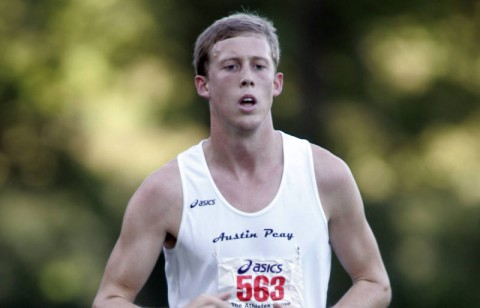 Junior Konnor Kessler and the Governors take on new course at GSU Cross County Invitational. APSU Cross Country. (Courtesy: Keith Dorris/Dorris Photography)