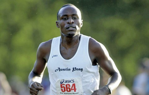 Junior Geofrey Kosgei finished 38th at the Georgia State Invitational, Saturday. APSU Cross Country. (Courtesy: Keith Dorris/Dorris Photography)