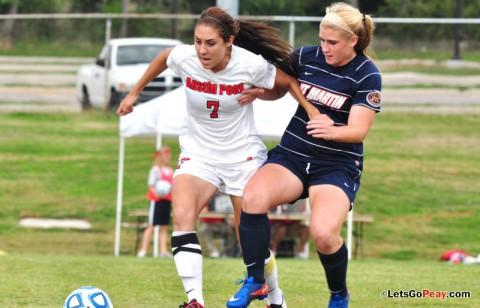 APSU Soccer. (Courtesy: Cidnie Sydney-Brewington/APSU