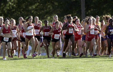 Lady Govs Seeking to Improvement at UAH Meet. (Courtesy: Keith Dorris/Dorris Photography)