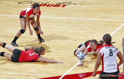 Austin Peay begins a stretch of three matches in four days with a Friday OVC contest at Jacksonville State. (Courtesy: Robert Smith/The Leaf-Chronicle)