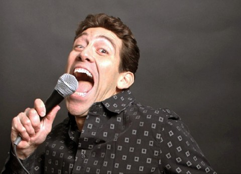 Comedian Bill Santiago