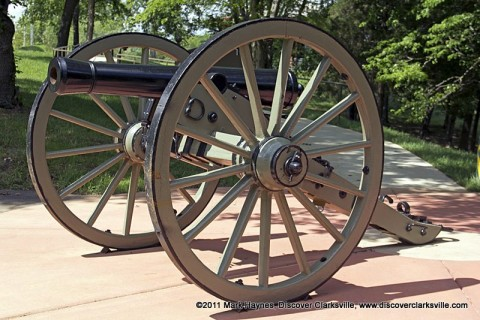 Clarksville Foundry produced a replica of an 1841 six-pounder cannon now installed at Fort Defiance Civil War Park.