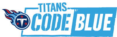 Tennessee Titans Fourth Annual CODE BLUE