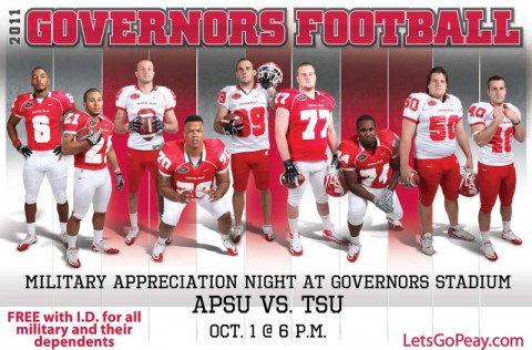 APSU's Annual Military Appreciation Night