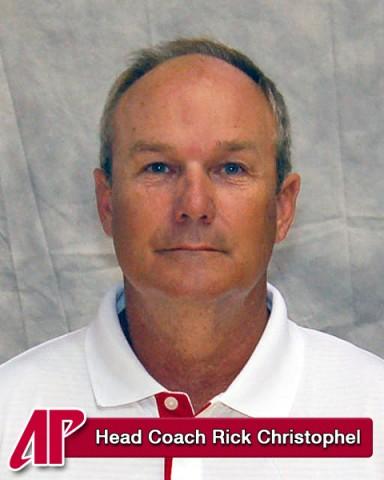 Head Coach Rick Christophel