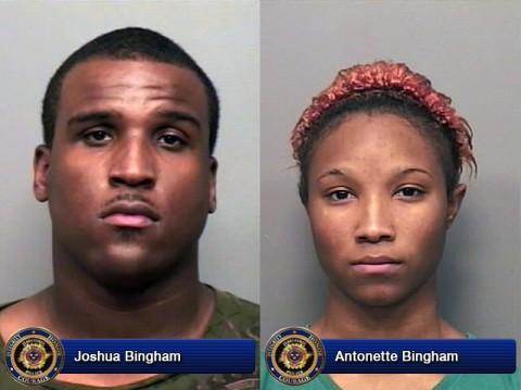 Joshua Bingham and Antonette Bingham