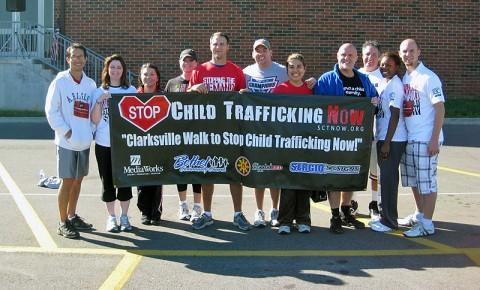 The 2010 Stop Child Trafficking Now Walk/Run in Clarksville.