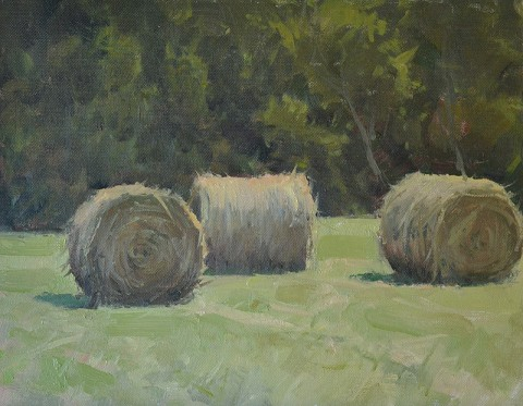 Summer Bales by Jason Saunders.