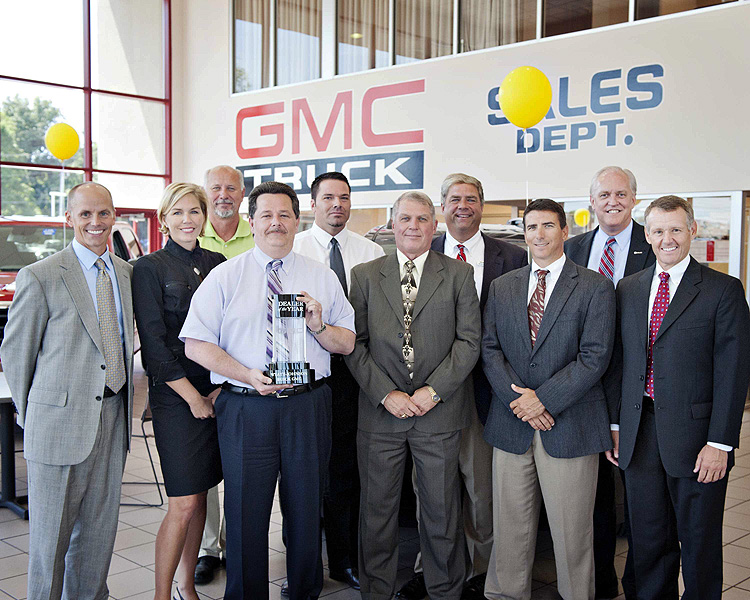 Wyatt Johnson Gmc >> Clarksville S Own Wyatt Johnson Named Gmc Dealer Of The Year