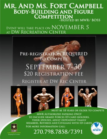 Body-Building and Figure Competition