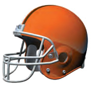 Browns Helmet