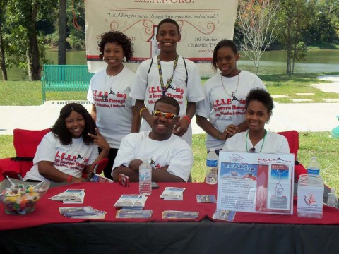 LEAP Volunteers at the 2011 Riverfest