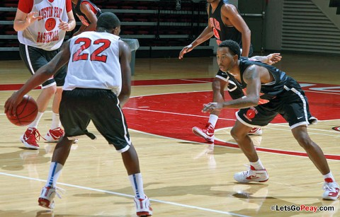 APSU Basketball. (Courtesy: Austin Peay Sports Information)