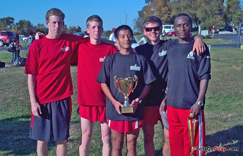 Austin Peay men's cross country team won the Thorobreds Stampede, Friday. APSU Cross Country. (Courtesy: Austin Peay Sports Information)