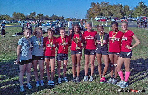 Austin Peay women's cross country team won the Thorobreds Stampede, Friday. APSU Cross Country. (Courtesy: Austin Peay Sports Information)