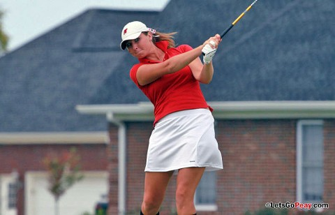 Junior Lauren Bond had the Lady Govs low round in Tuesday's final round of the Fall Memphis Invitational. APSU Golf. (Courtesy: Austin Peay Sports Information)