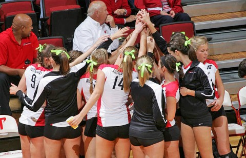 APSU Volleyball. (Courtesy: Keith Dorris/Dorris Photography)